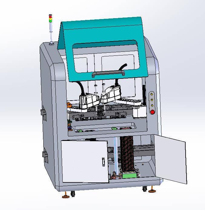 工业机器人智能3D曲面涂胶系统